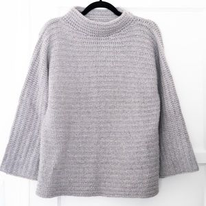 Margaret O'Leary Cashmere Cowl Knit Sweater